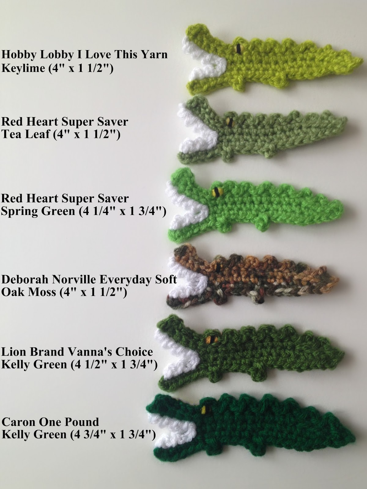 By jenni designs free crochet pattern tutorial alligator applique bankloansurffo Choice Image