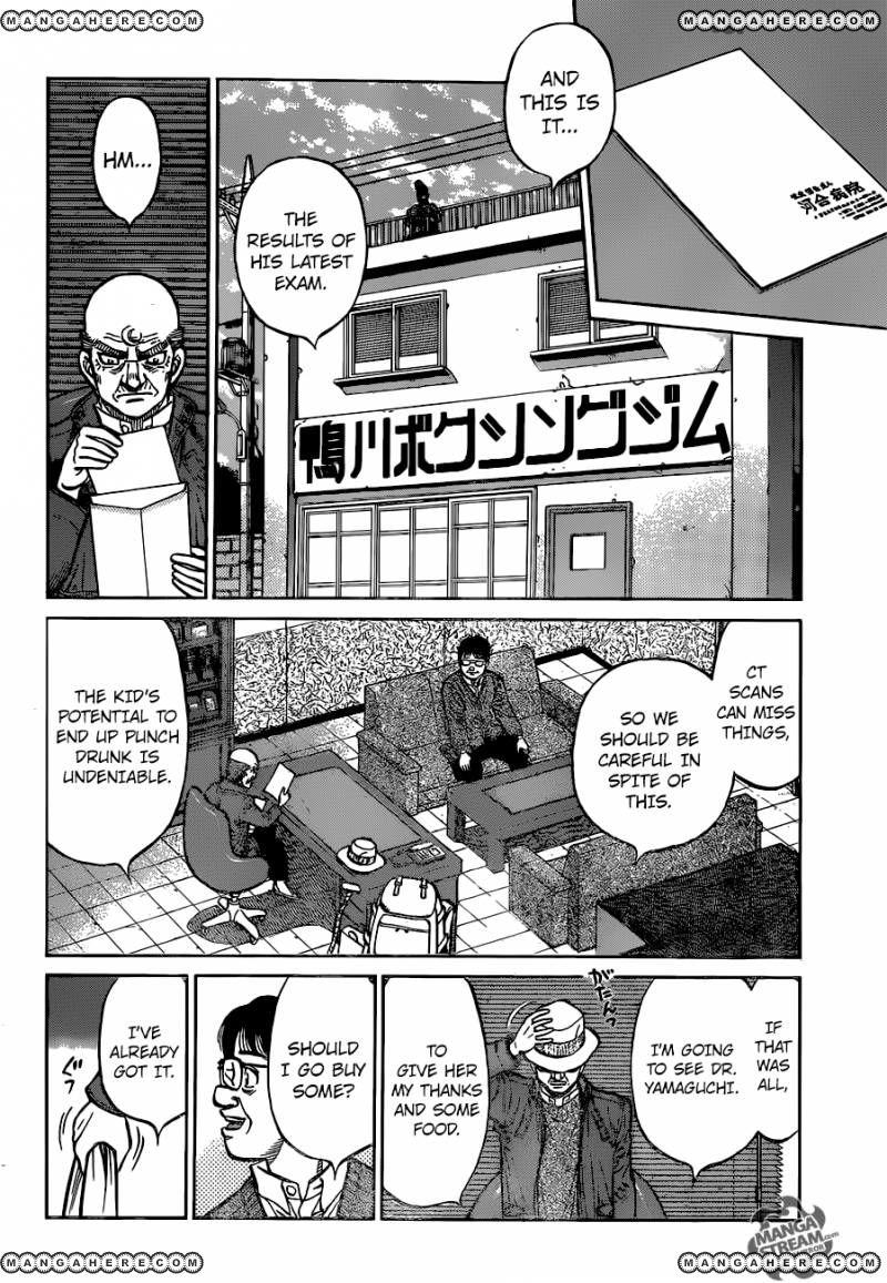 Hajime no Ippo - Chapter 1165