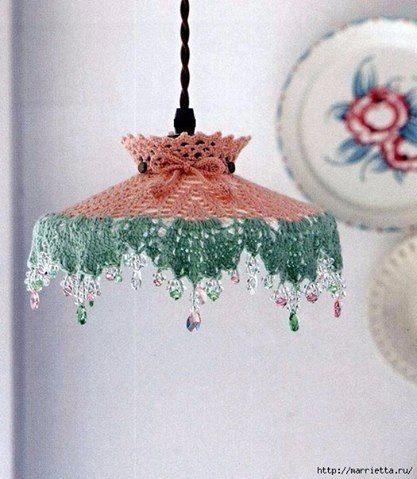 Patrón #1247: Lampara a Crochet