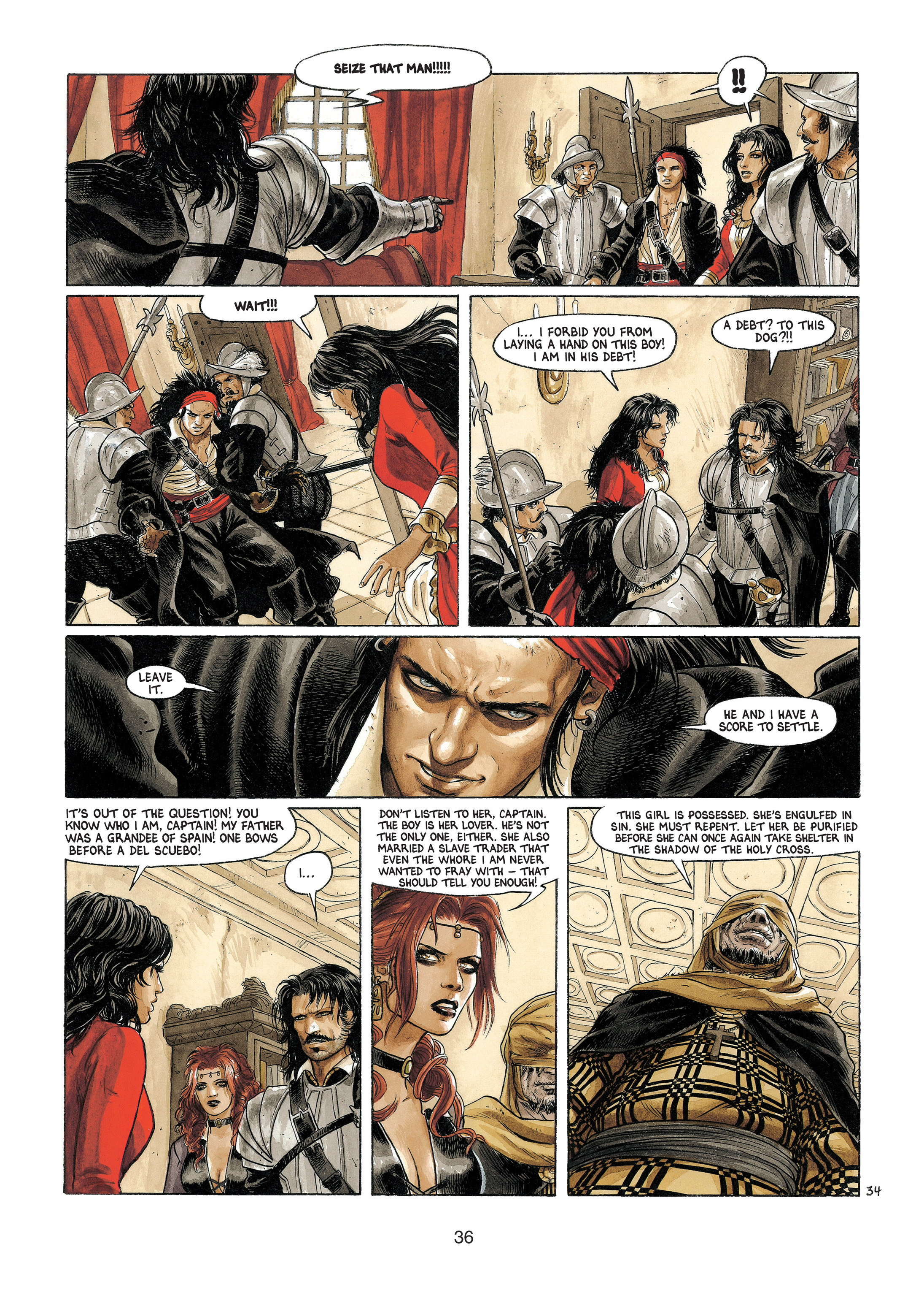 Read online Barracuda comic -  Issue #4 - 37