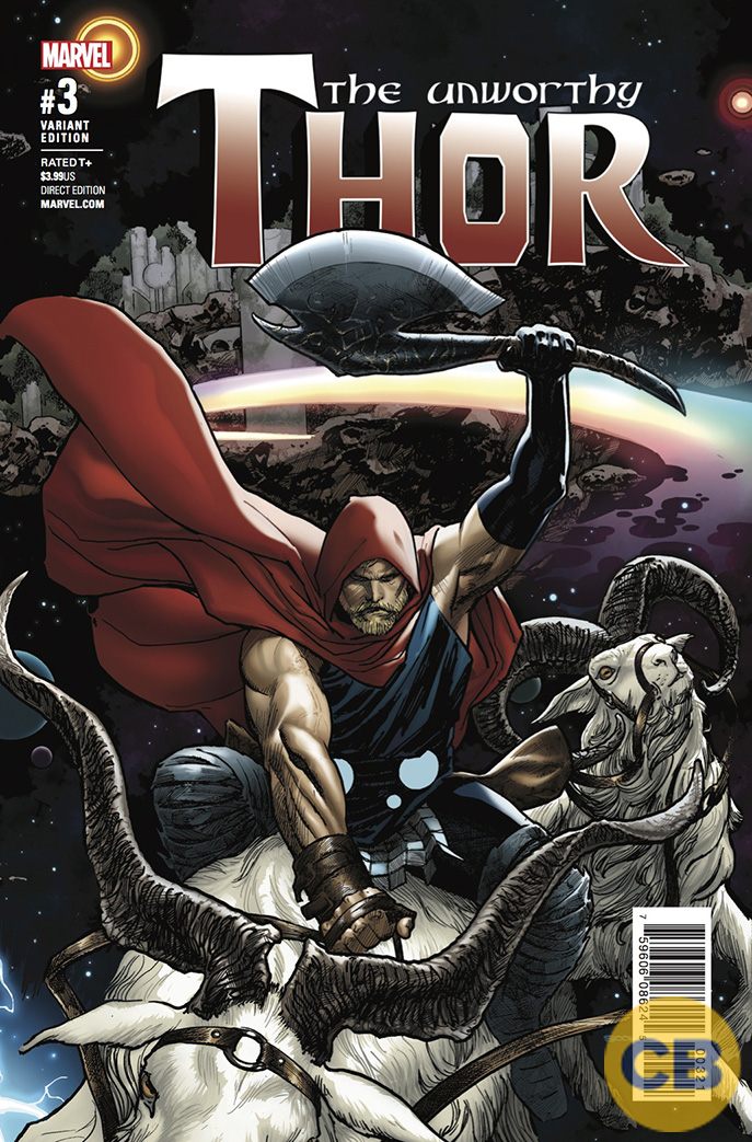 spoiler free movie sleuth  images  marvel comics the unworthy thor  3 preview