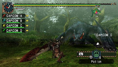 Monster Hunter Freedom Unite (USA) - PSP ISO Download - omahunduh.com