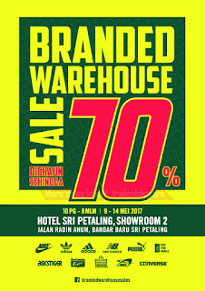 Branded Warehouse Sale 2017