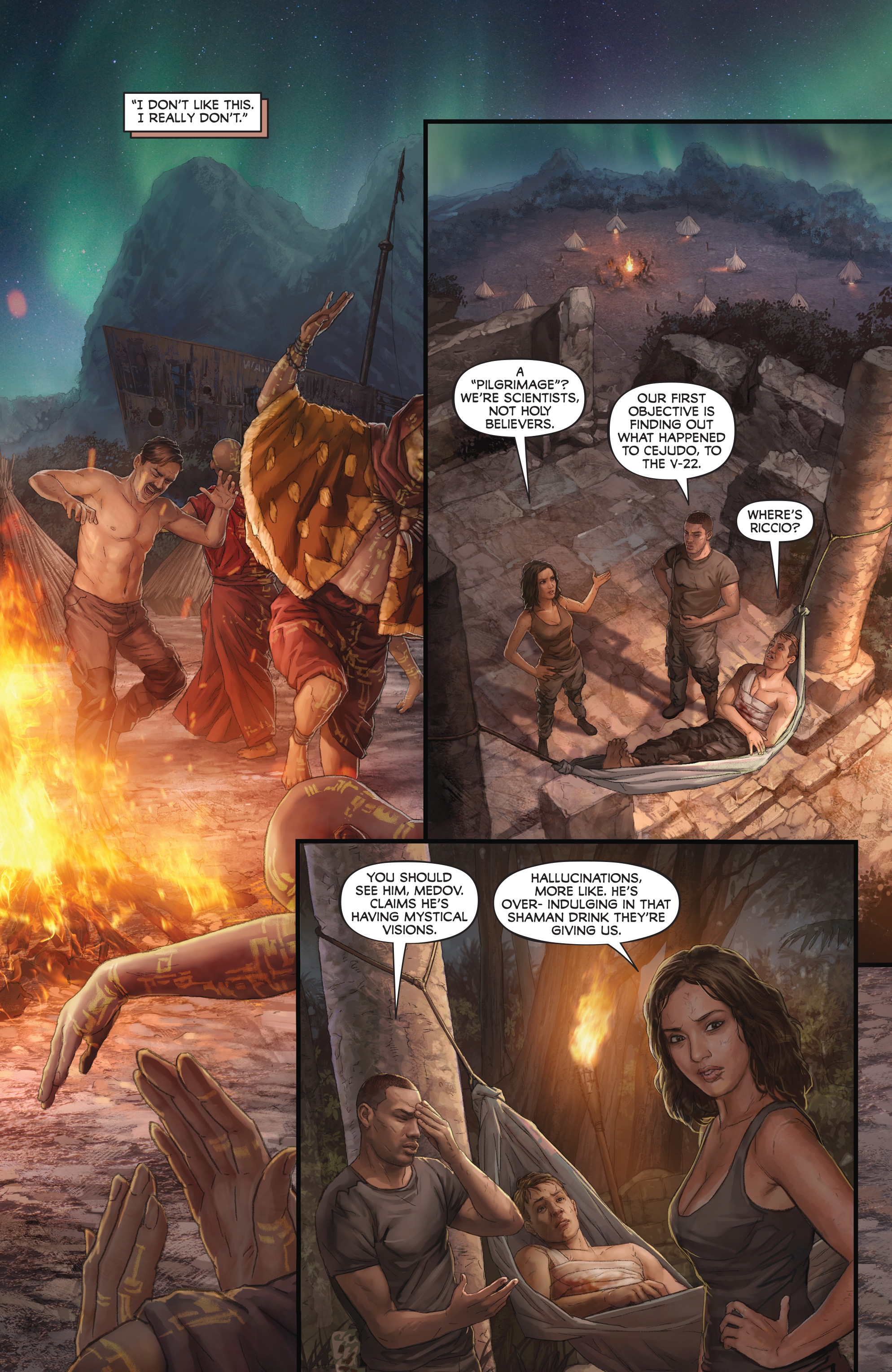 Read online Skull Island: The Birth of Kong comic -  Issue #2 - 8