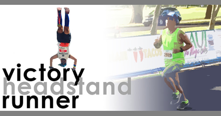 Victory Headstand Runner