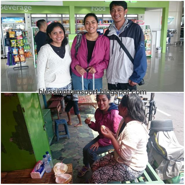 Anu and Dipti, transport for Surabaya-Bromo-Ijen