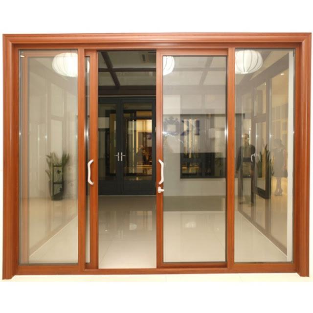cửa nhôm kính đẹp - mẫu thiết kế số 8