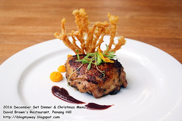 2016 December Set Dinner & Christmas Menu @ David Brown's Restaurant, Penang Hill