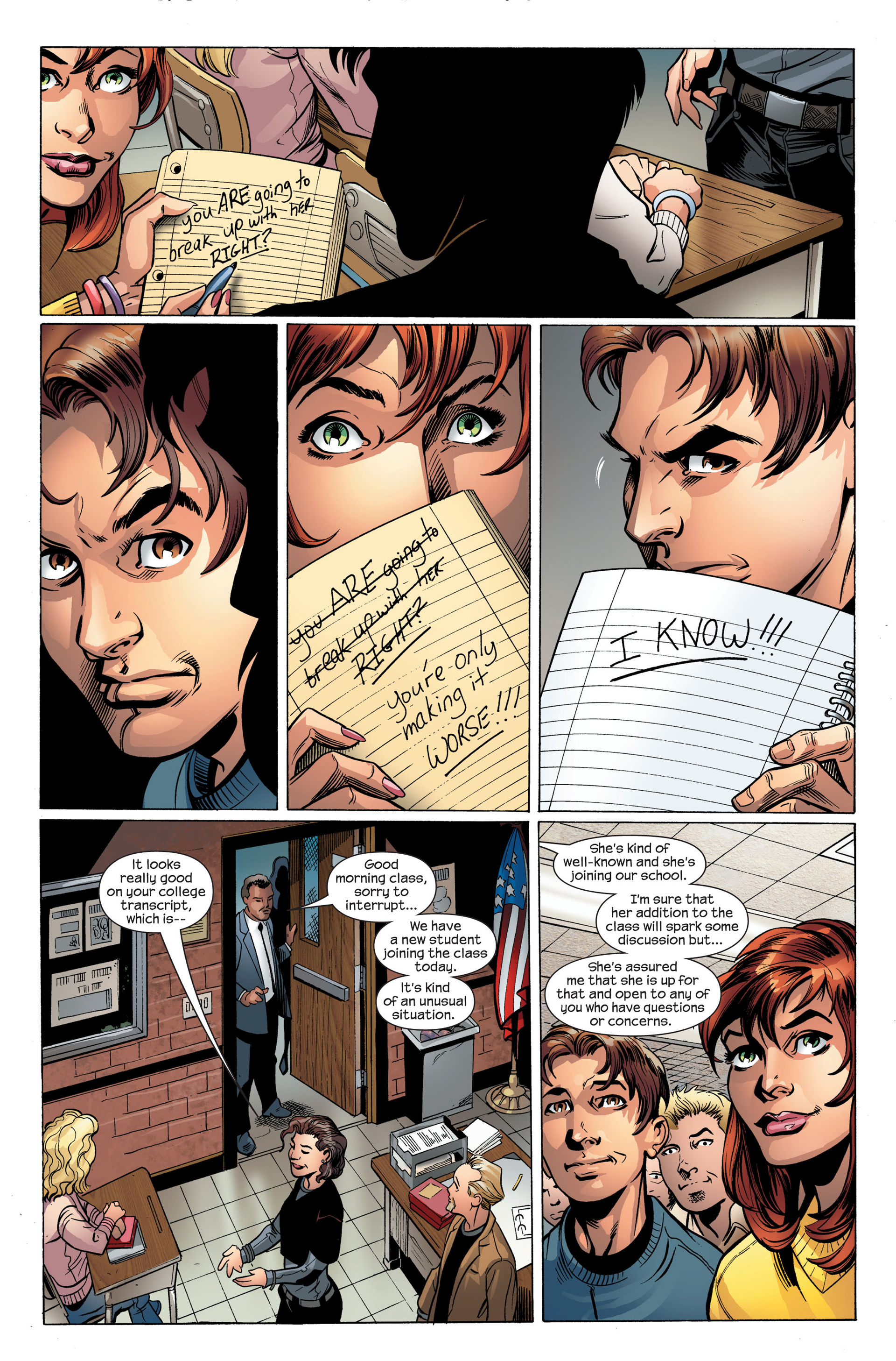 Read online Ultimate Spider-Man (2000) comic -  Issue #106 - 20