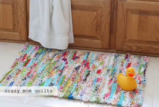 How To Crochet A Rag Rug With Fabric Yarn