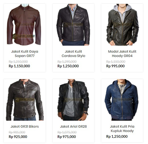 Price List Jaket Kulit Terbaru