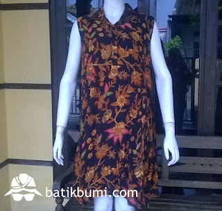 dress batik solo