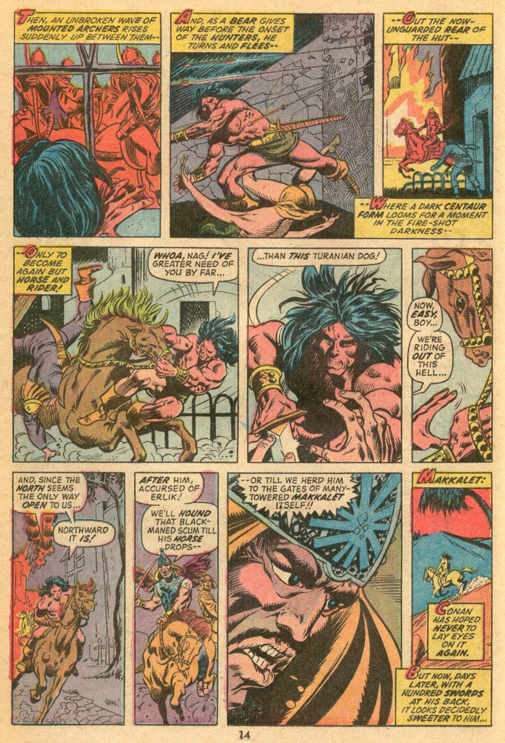 Conan the Barbarian (1970) Issue #23 #35 - English 11
