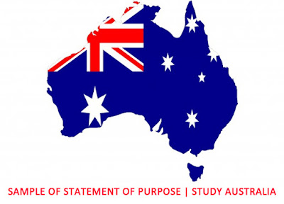 Sample of Statement of Purpose for Australia University | Study Australia