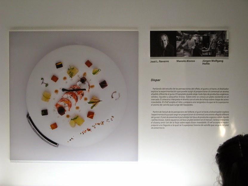 """""""dispar"""",nuestro proyecto para """"Diseño al Plato"""",de cotacero & Manolo Alonso & forjacontemporanea,Valencia disseny week 2015, España"""