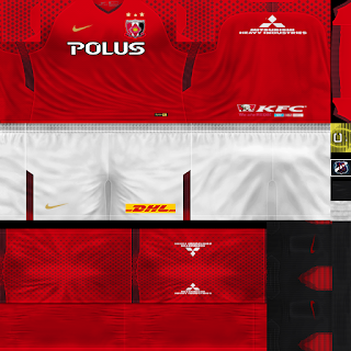 PES 6 Kits Urawa Red Diamonds Season 2018/2019 by JeremySvr