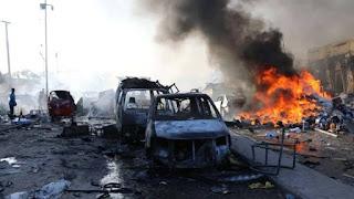 Somalia bombing, clashes with militants