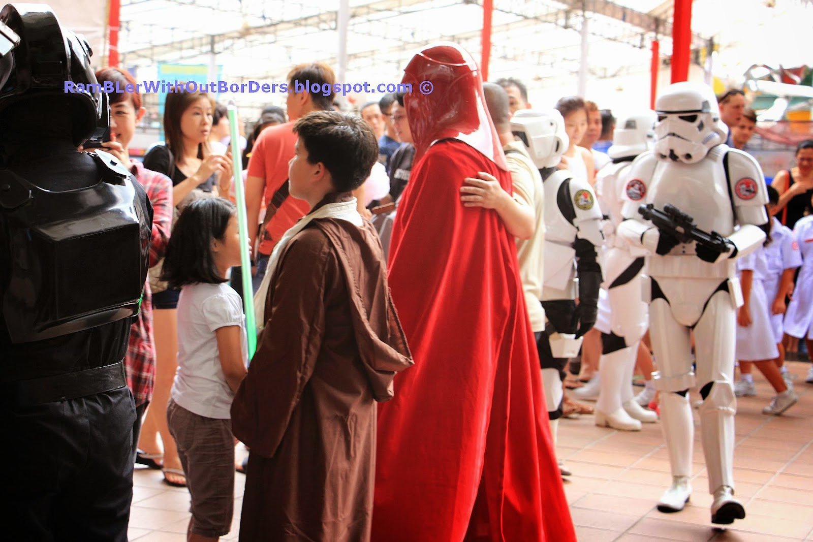 Star Wars characters, Singapore International Red Cross Bazaar 2015