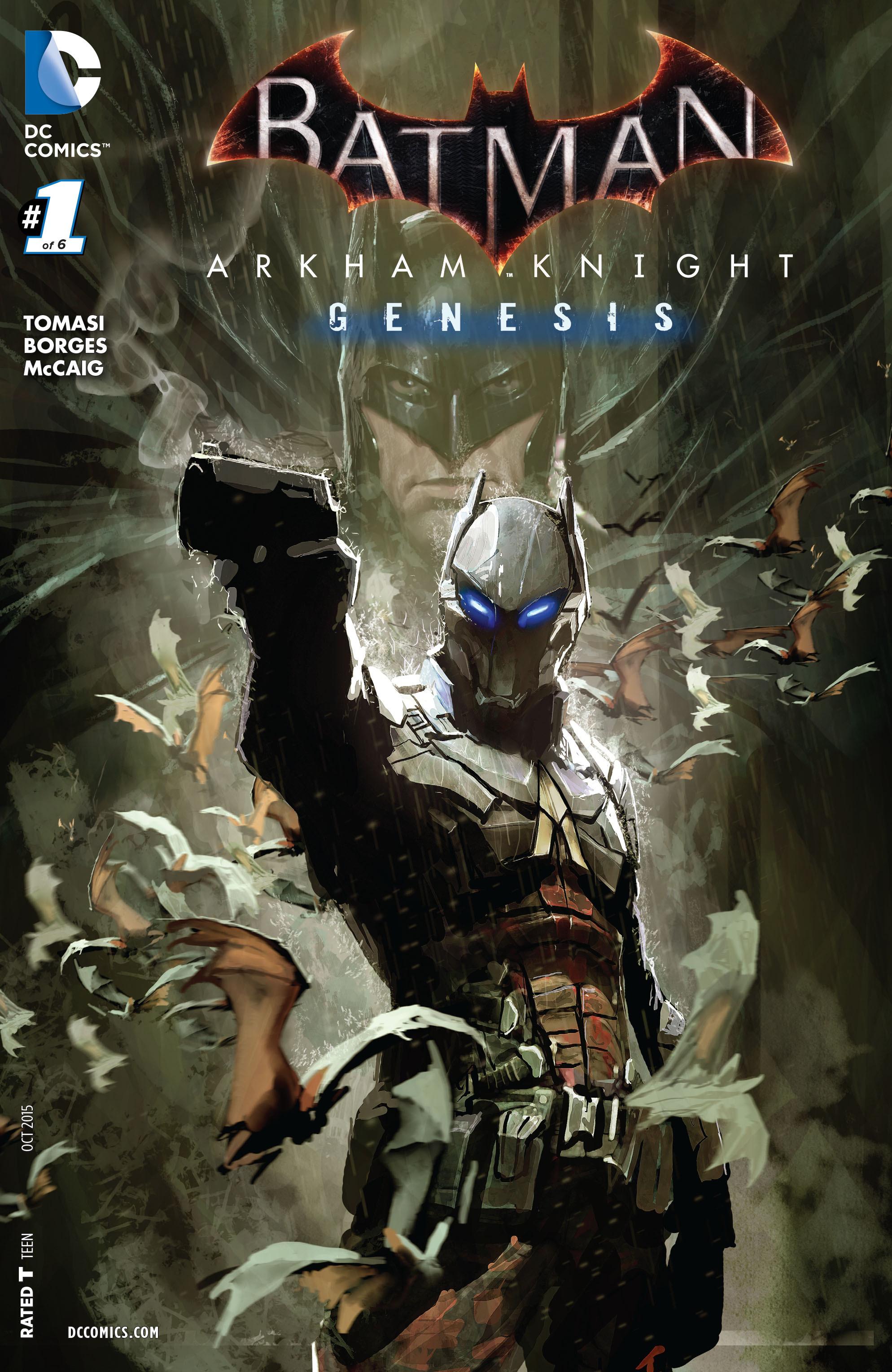 Batman: Arkham Knight: Genesis 1 Page 1