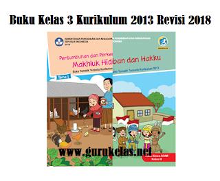 Download Buku Guru dan Siswa Kelas 3 K13
