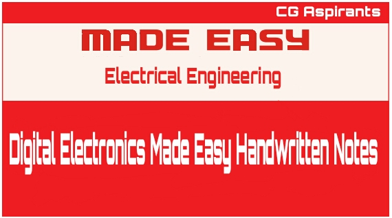 Digital Electronics Made Easy Handwritten Notes
