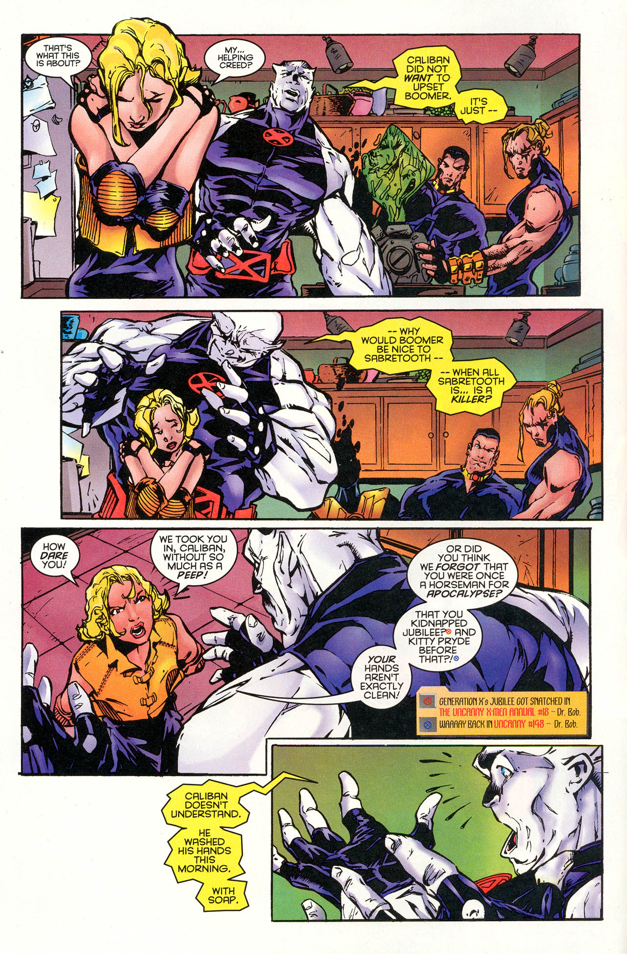 Read online X-Force (1991) comic -  Issue #48 - 11
