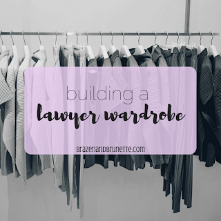 Lawyer outfit ideas including skirt suits, pant suits, blouses, work heels, work flats, and work totes | brazenandbrunette.com