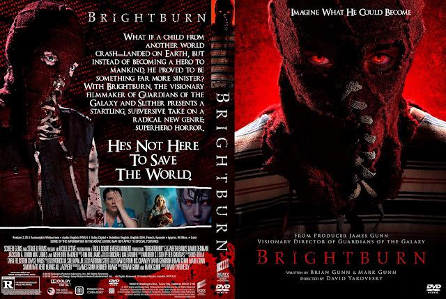 Brightburn DVD Cover