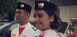 Senyuman Bangga Bahagia Terpancar, Gloria: Terima Kasih Pak Jokowi