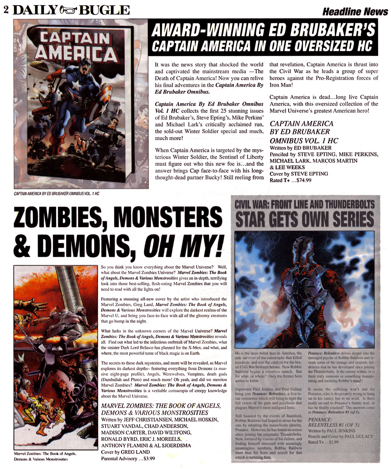 Read online Daily Bugle (2006) comic -  Issue #12 - 3