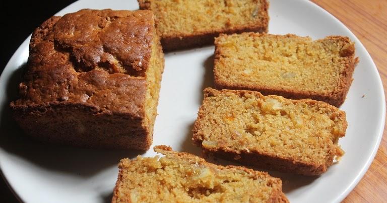 Yummy Tummy Eggless Orange Marmalade Cake Recipe