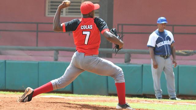 Oscar Luis Colás es uno de los santiagueros elegidos para integrar el equipo Cuba juvenil. Foto: Jorge Luis Guibert