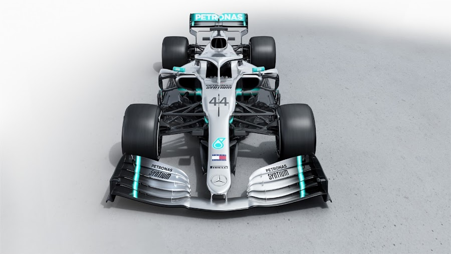 44 Mercedes AMG Petronas W10 F1 2019 Wallpaper