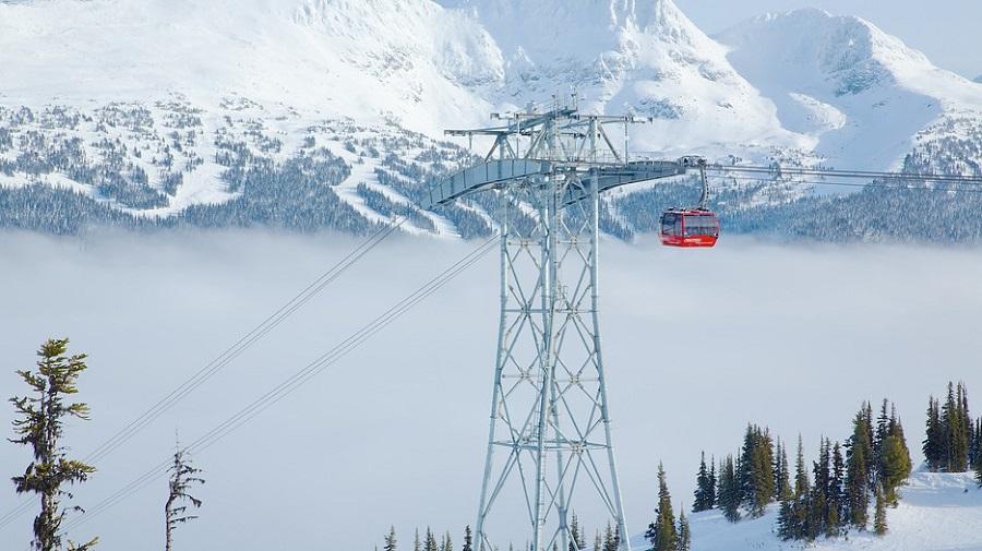 Peak-2-Peak Gondola principais pontos turísticos do Canadá