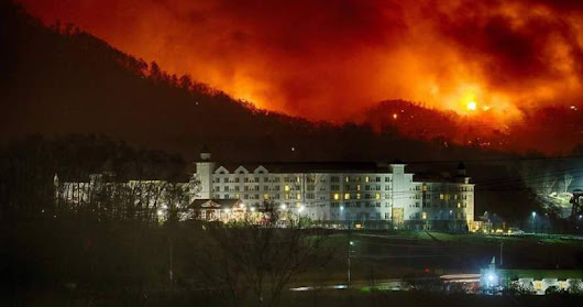 Follow Up to my Blog Post today about the Gatlinburg Fires
