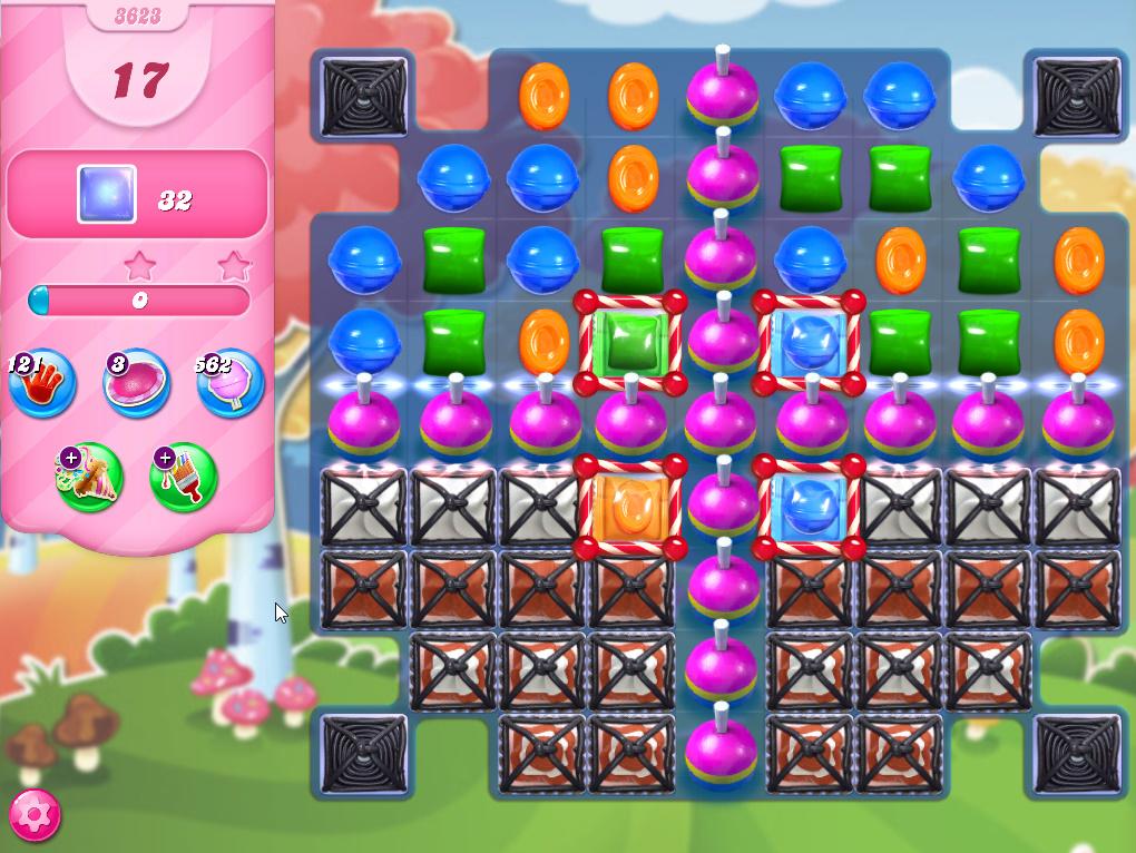 Candy Crush Saga level 3623