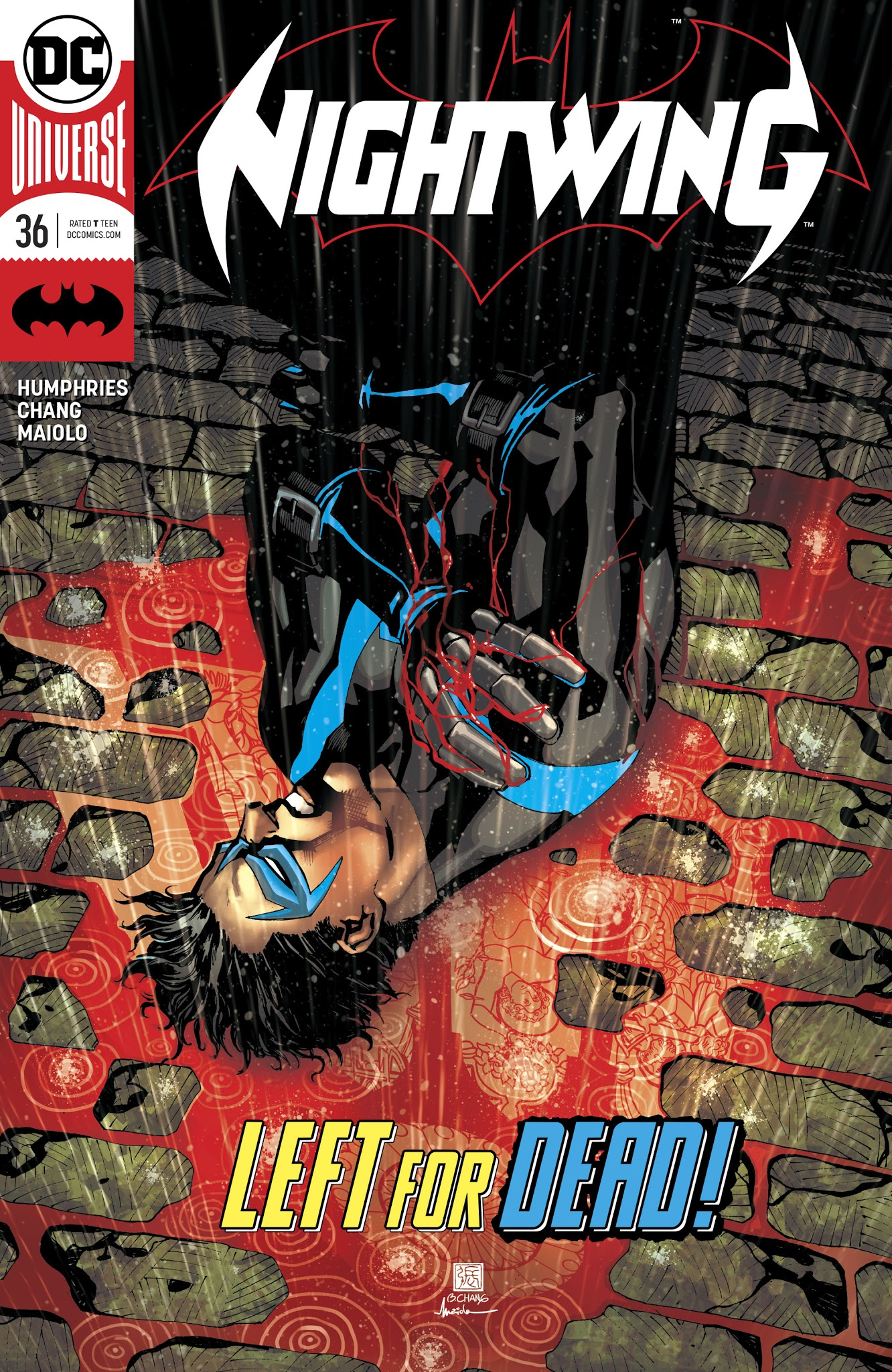 Nightwing (2016) 36 Page 1