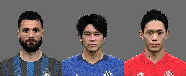 PES 2017 Updated Face Pack