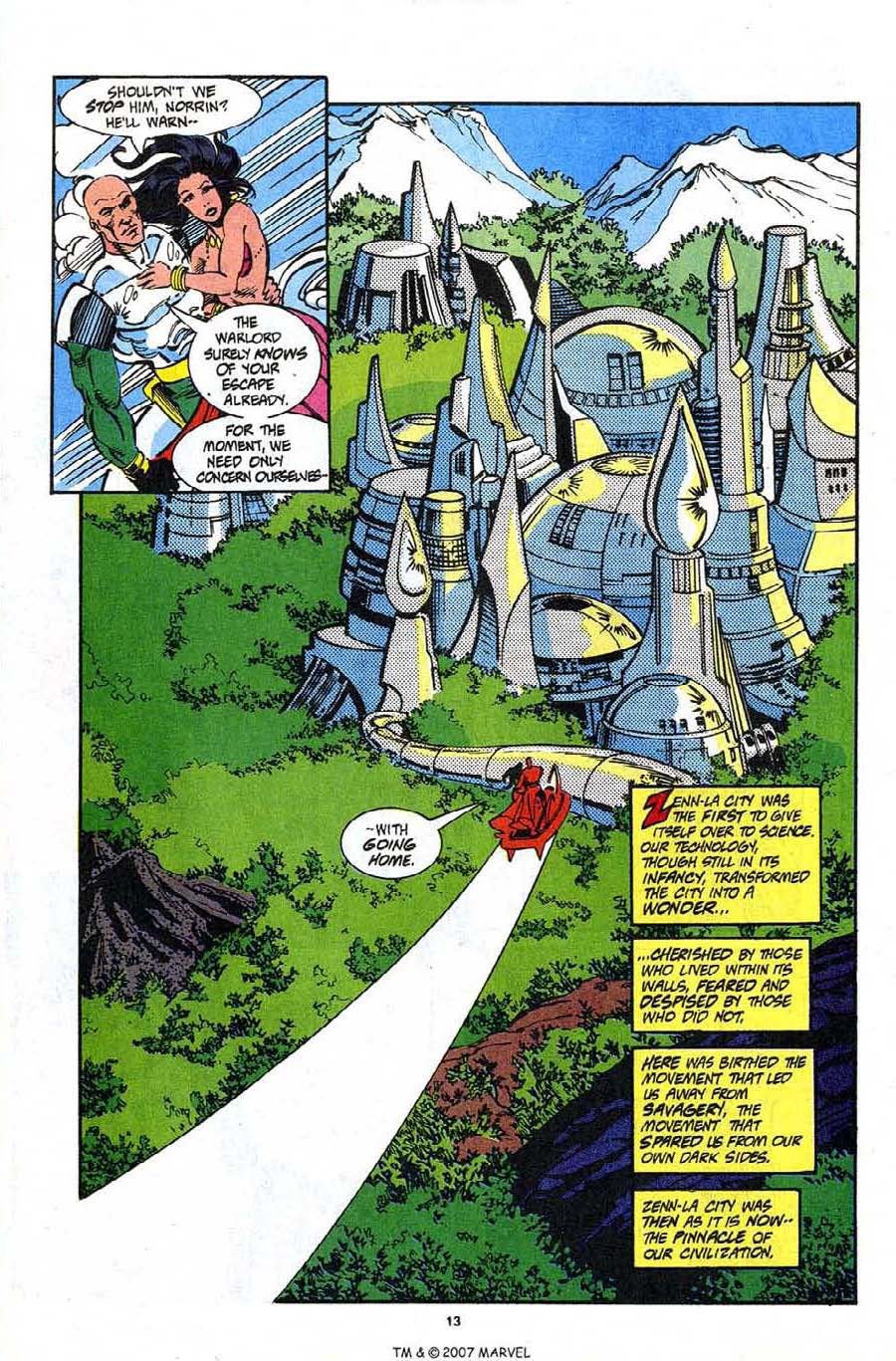Read online Silver Surfer (1987) comic -  Issue #91 - 15