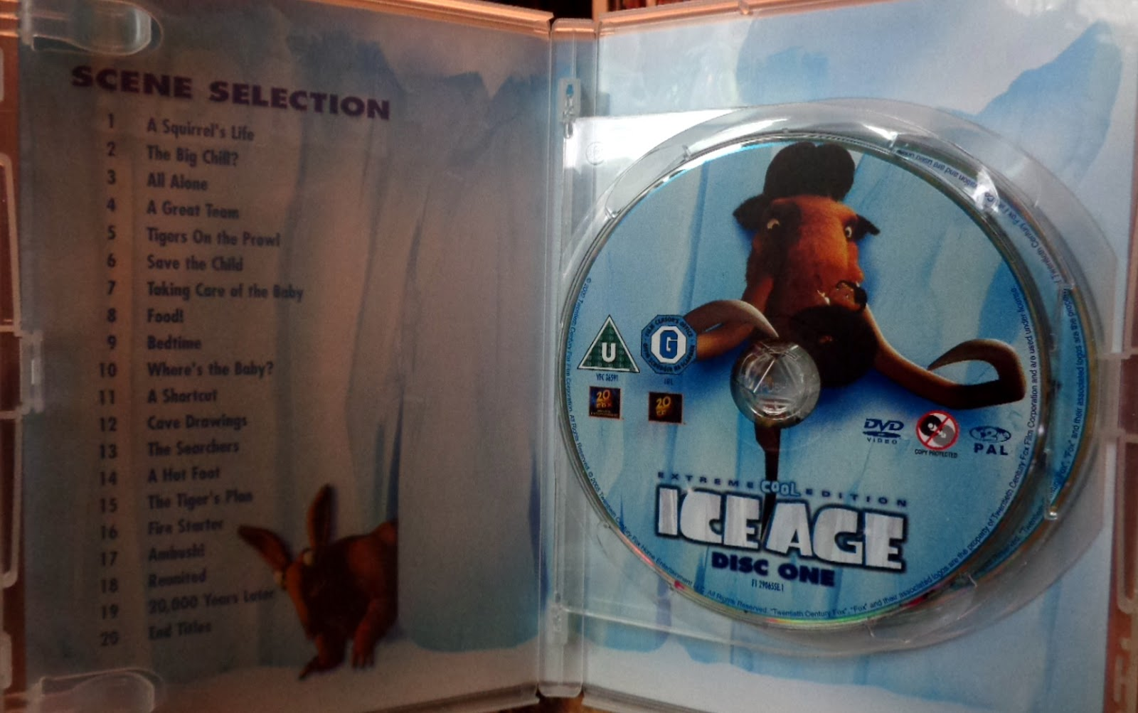 Ice age (extreme cool edition) [dvd]: amazon. Co. Uk: chris wedge.