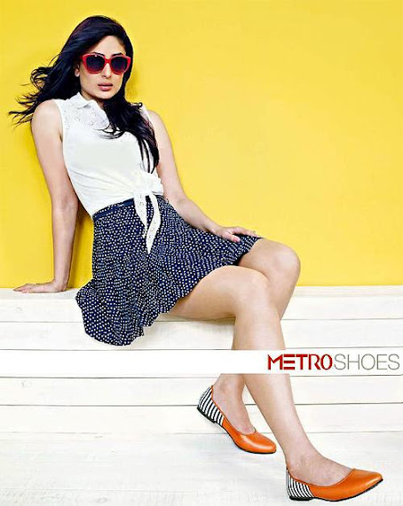 Kareena Kapoor Latest Photoshoot for Metro Shoes