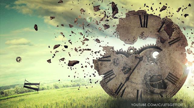 Broken Clock Photo Manipulation Tutorial