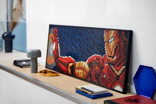 LEGO Art Series 31199 Marvel Studios Iron Man