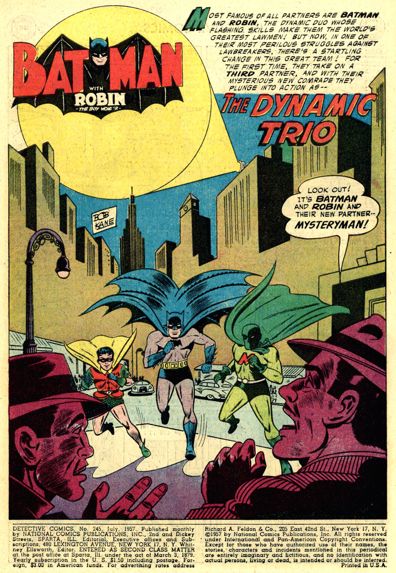 Read online Detective Comics (1937) comic -  Issue #245 - 3