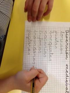 Agustinas Valladolid - 2017 - Infantil 3 - Escritura Edad Media 1