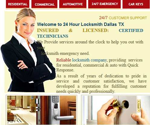24 Hour Locksmith Dallas TX