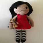 Patron gratis muñeca amigurumi | Free amigurumi pattern doll