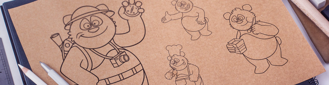 Création d'illustrations et de mascottes