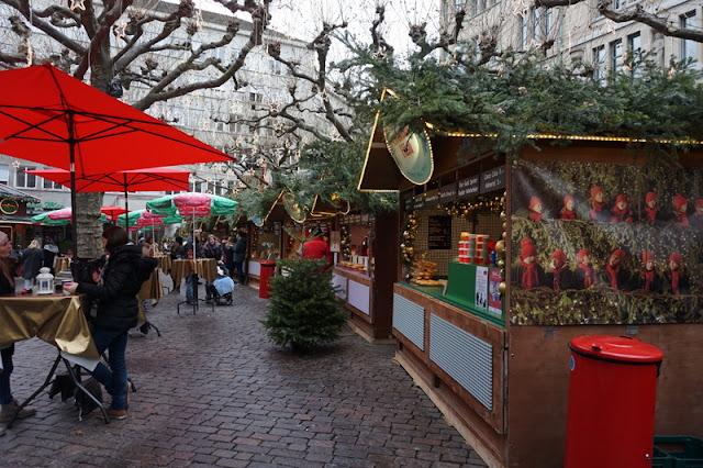 joulumarkkinat glühwein hehkuviini