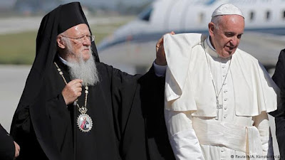 Regarding the Pope's visit to Lesvos Island, Greece